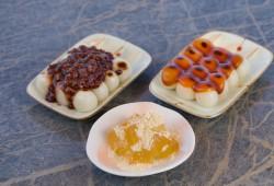 烤糯米团子/红豆团子