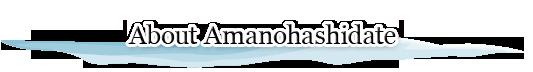 About Amanohashidate