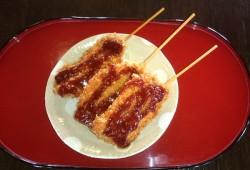 Asari no Kushi-katsu<br> (Skewered clam-katsu)