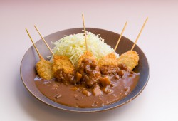 Miyazu style clam cutlet curry