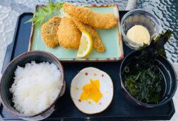 地魚のミックスフライ定食