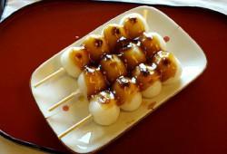 烤糯米糰子/紅豆糰子