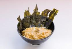 Ita-wakame don <br>(Dried seaweed and egg rice bowl)